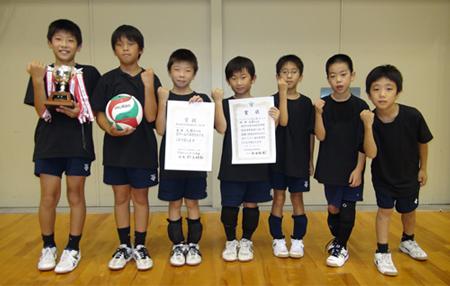 大関KID'Sバレーボールクラブ(京都府宇治市)